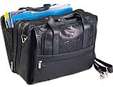 Expandable Soft Sided Briefcase